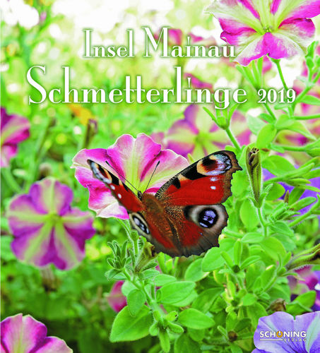 Mainau Schmetterlings-Kalender 2019